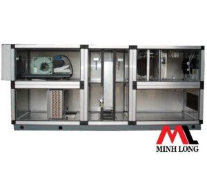 Bộ xử lý không khí AHU tích hợp bánh tách ẩm Cool Dry Quiet CDQ Series Dessican wheel Dehumidification application
